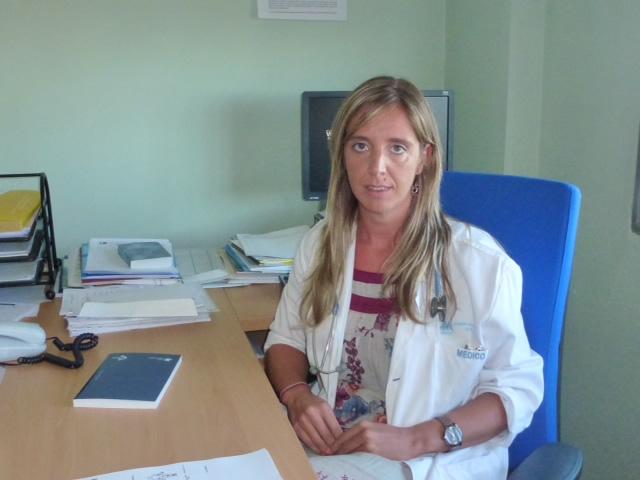 Dra. Ana López de la Guía, especialista del Servicio de Hematologia del Hospital Universitario La Paz de Madrid