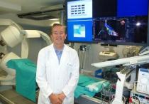 Dr. José Luís Merino, jefe se sección de Cardiología y responsable de la unidad robotizada de cateterismos del Hospital Universitario La Paz de Madrid.