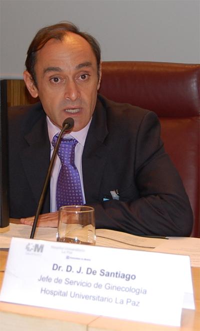 Dr. Javier De Santiago, jefe de Servicio de Obstetricia del Hospital Universitario La Paz de Madrid.